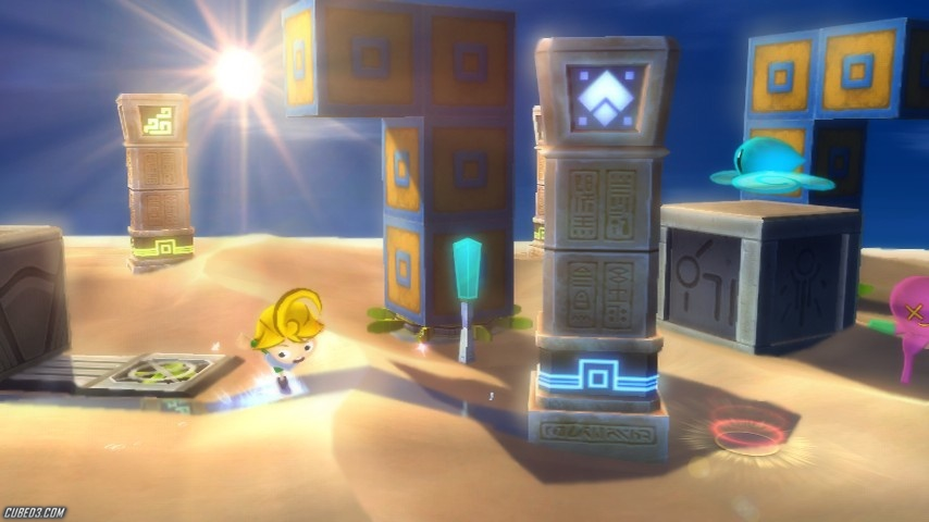 Screenshot for The Magic Obelisk on WiiWare - on Nintendo Wii U, 3DS games review