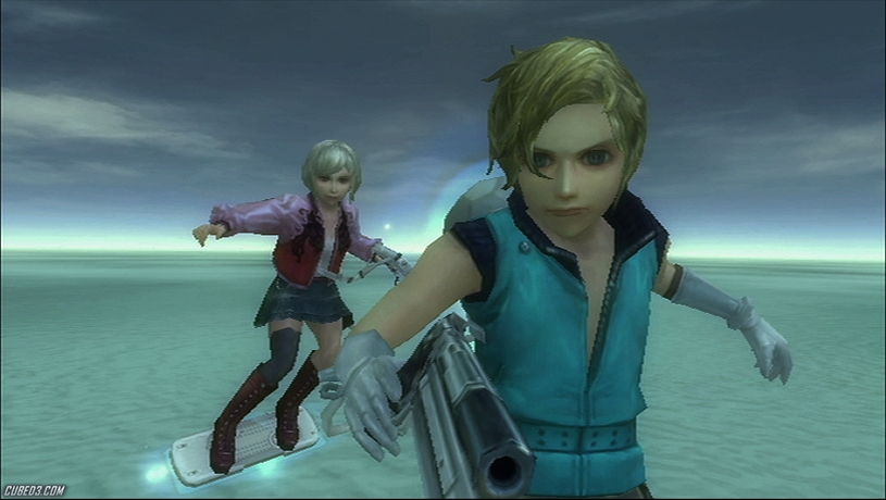 Screenshot for Sin and Punishment 2: Successor of the Skies on Wii