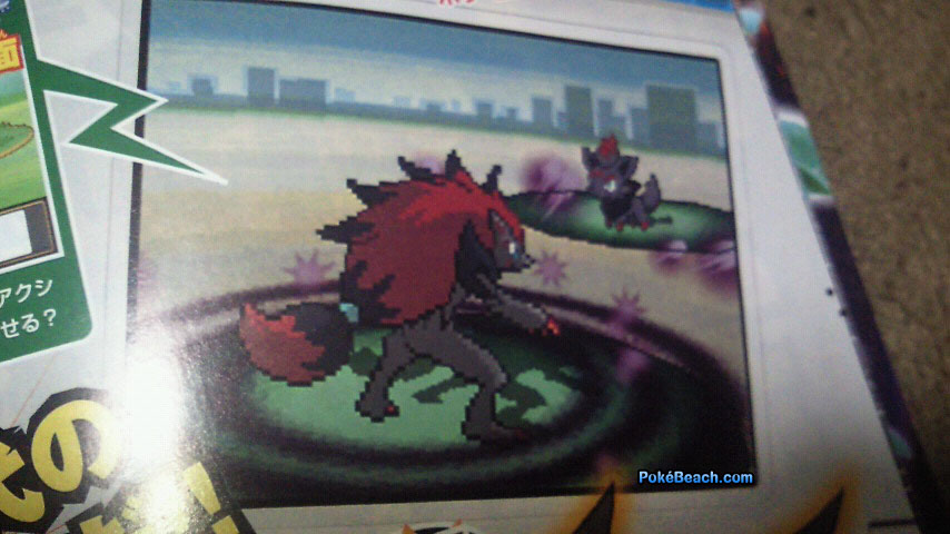 First Pokémon Black/White Scans Leak