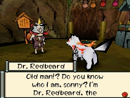 Screenshot for Okamiden (Hands-On) on Nintendo DS