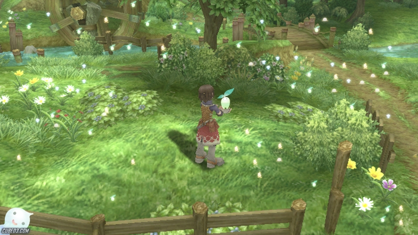 Screenshot for Rune Factory Frontier on Wii - on Nintendo Wii U, 3DS games review