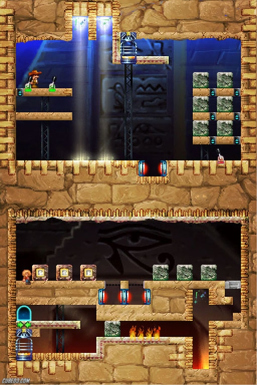 Screenshot for Puzzle Expedition: The Quest for the Tear of God on Nintendo DS