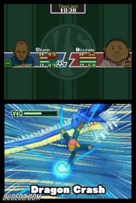 Screenshot for Inazuma Eleven on Nintendo DS