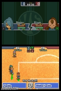 Screenshot for Inazuma Eleven on Nintendo DS - on Nintendo Wii U, 3DS games review