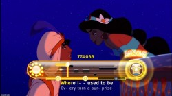Screenshot for Disney Sing It: Family Hits - click to enlarge