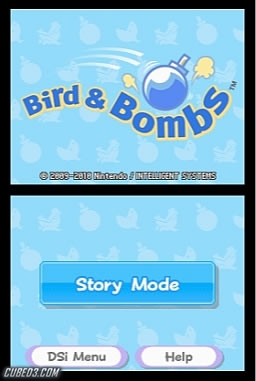 Screenshot for Bird & Bombs on DSiWare - on Nintendo Wii U, 3DS games review