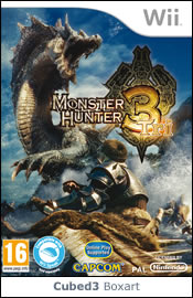 Box art for Monster Hunter Tri