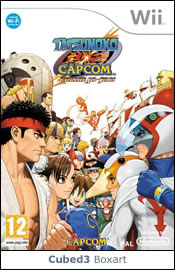 Box art for Tatsunoko vs. Capcom: Ultimate All-Stars