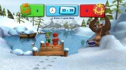 Screenshot for Hubert the Teddy Bear: Winter Games - click to enlarge