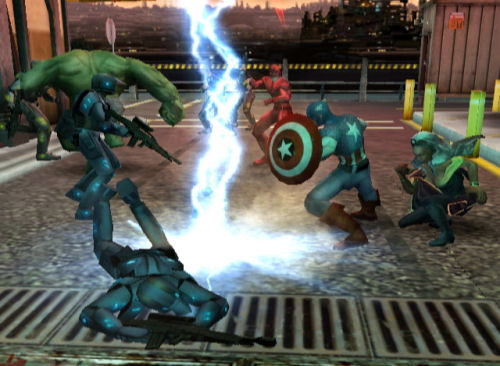 Screenshot for Marvel Ultimate Alliance 2 on Wii - on Nintendo Wii U, 3DS games review