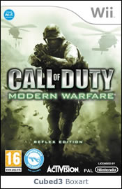 Box art for Call of Duty: Modern Warfare Reflex Edition