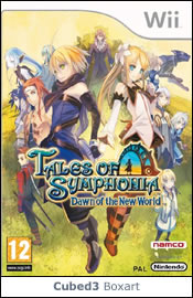 Box art for Tales of Symphonia: Dawn of the New World