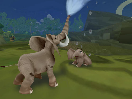 Screenshot for SimAnimals Africa on Wii - on Nintendo Wii U, 3DS games review