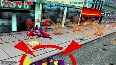 Screenshot for Gunblade NY & L.A. Machineguns: Rage of the Machines Arcade Hits Pack on Wii - on Nintendo Wii U, 3DS games review