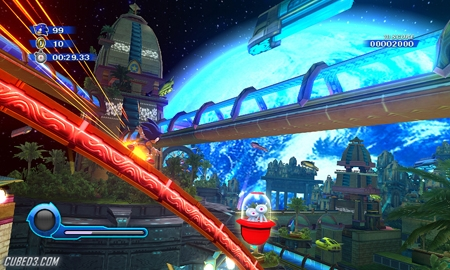 Screenshot for Sonic Colours on Wii- on Nintendo Wii U, 3DS games review