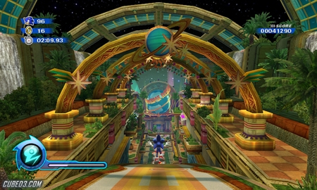 Screenshot for Sonic Colours on Wii - on Nintendo Wii U, 3DS games review