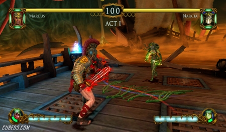 Screenshot for Tournament of Legends on Wii- on Nintendo Wii U, 3DS games review