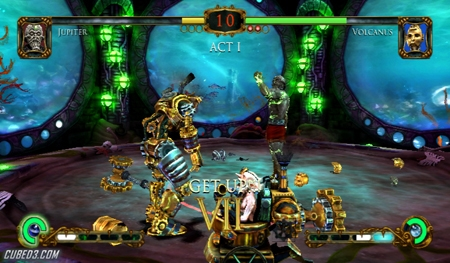 Screenshot for Tournament of Legends on Wii - on Nintendo Wii U, 3DS games review