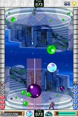 Screenshot for PANG: Magical Michael on Nintendo DS