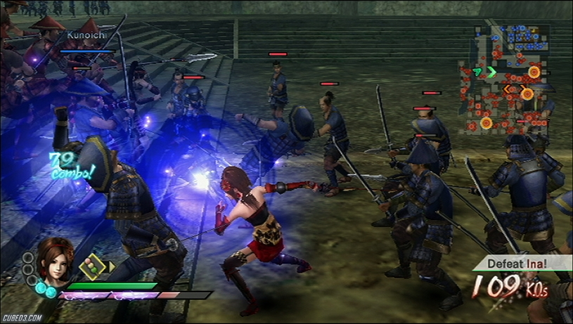 Screenshot for Samurai Warriors 3 on Wii - on Nintendo Wii U, 3DS games review
