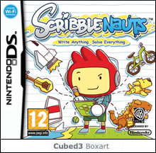 Box art for Scribblenauts