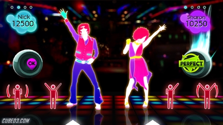 Screenshot for Just Dance 2 on Wii - on Nintendo Wii U, 3DS games review