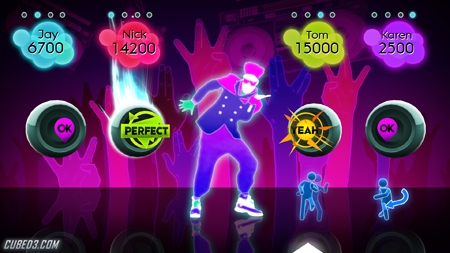 Screenshot for Just Dance 2 on Wii- on Nintendo Wii U, 3DS games review