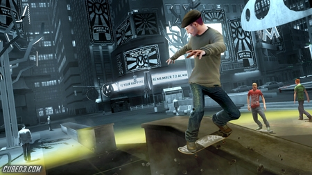 Screenshot for Shaun White Skateboarding (Hands-On) on Wii