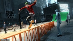 Screenshot for Shaun White Skateboarding - click to enlarge