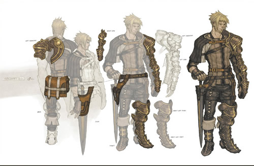 Character Design Group : News more the last story wii rpg artwork page cubed