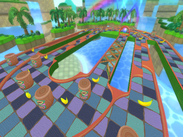 Screenshot for Super Monkey Ball: Step & Roll on Wii - on Nintendo Wii U, 3DS games review