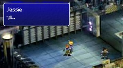 Screenshot for Final Fantasy VII DS (April Fools) - click to enlarge