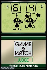 Screenshot for Game & Watch: Judge on Nintendo DS