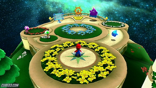 Screenshot for Super Mario Galaxy 2 on Wii - on Nintendo Wii U, 3DS games review