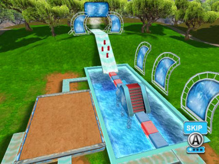 Screenshot for The Ultimate Red Ball Challenge on Wii