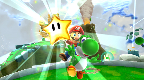 Screenshot for Super Mario Galaxy 2 (Hands On) on Wii