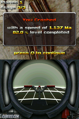 Screenshot for AiRace: Tunnel on Nintendo DS