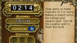 Screenshot for Jewel Quest Mysteries: The Curse of the Emerald Tear - click to enlarge