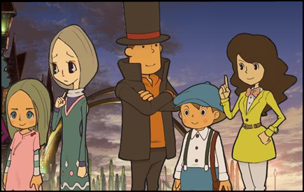 Movie Review Professor Layton And The Eternal Diva Page 1 Cubed3