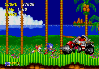 Screenshot for Sonic Classic Collection on Nintendo DS - on Nintendo Wii U, 3DS games review