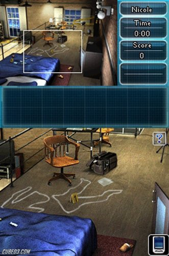 Screenshot for Crime Lab: Body of Evidence on Nintendo DS