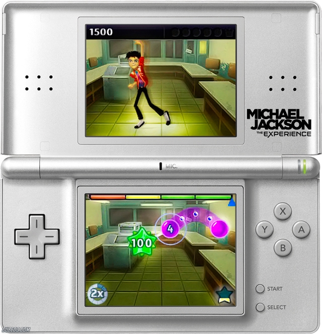 Screenshot for Michael Jackson: The Experience (Hands-On) on Nintendo DS