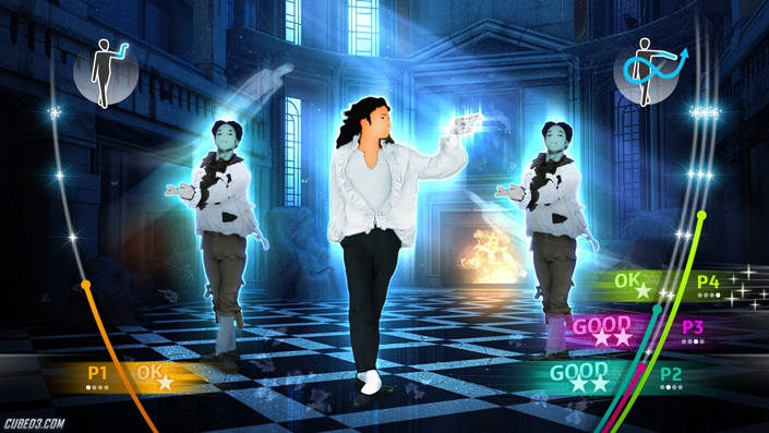 Screenshot for Michael Jackson: The Experience (Hands-On) on Wii