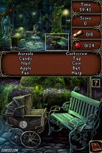 Screenshot for Vampire Moon: The Mystery of the Hidden Sun on Nintendo DS