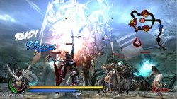 Screenshot for Sengoku Basara: Samurai Heroes - click to enlarge