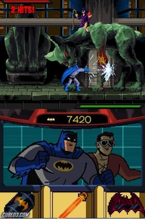 Screenshot for Batman: The Brave and the Bold on Nintendo DS - on Nintendo Wii U, 3DS games review