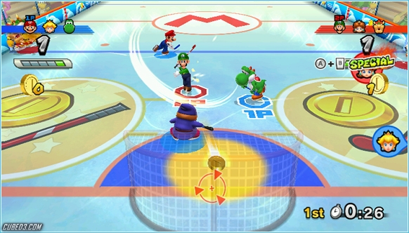 Screenshot for Mario Sports Mix on Wii- on Nintendo Wii U, 3DS games review
