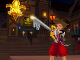 Screenshot for Kingdom Hearts Re:coded on Nintendo DS - on Nintendo Wii U, 3DS games review