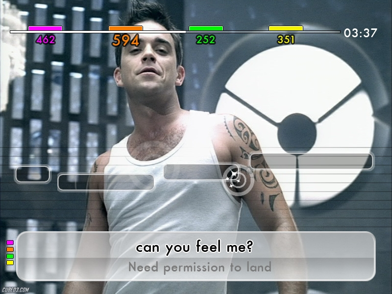 Screenshot for We Sing Robbie Williams on Wii