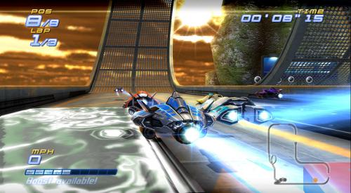 Screenshot for FAST Racing League on Wii